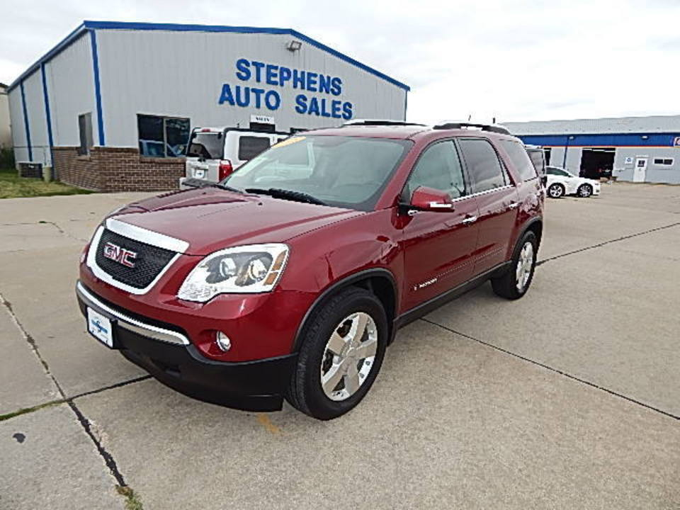 2008 GMC Acadia  - Stephens Automotive Sales
