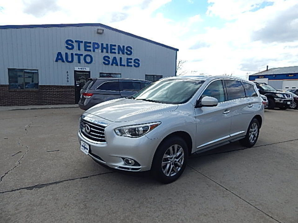 2013 Infiniti JX35  - 11W  - Stephens Automotive Sales