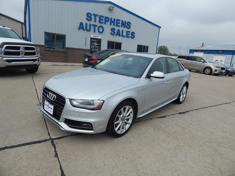 2014 Audi A-4 Premium Plus  - 031849  - Stephens Automotive Sales