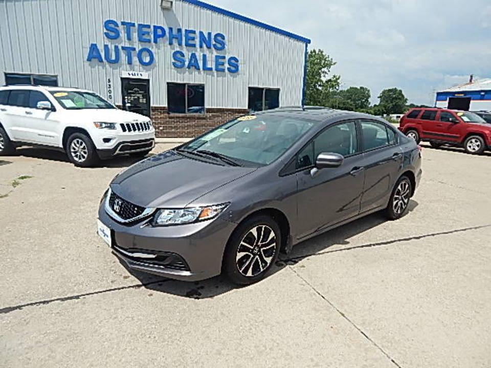 2015 Honda Civic Sedan  - Stephens Automotive Sales