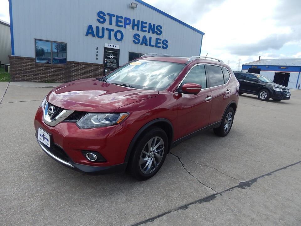2015 Nissan Rogue SL  - 5  - Stephens Automotive Sales