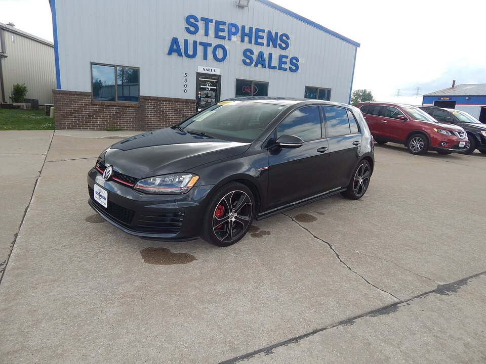 2017 Volkswagen Golf GTI  - Stephens Automotive Sales