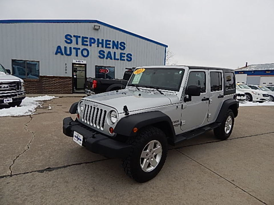 2012 Jeep Wrangler  - Stephens Automotive Sales