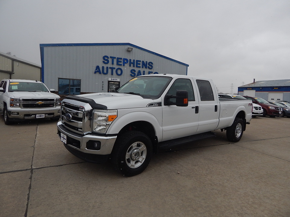 2016 Ford F-250 XLT  - B00980  - Stephens Automotive Sales