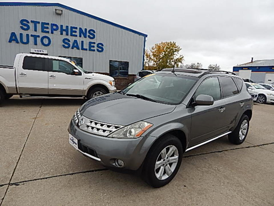 2007 Nissan Murano  - Stephens Automotive Sales