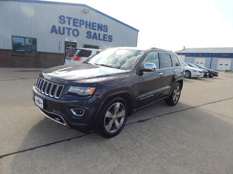 2014 Jeep Grand Cherokee Over