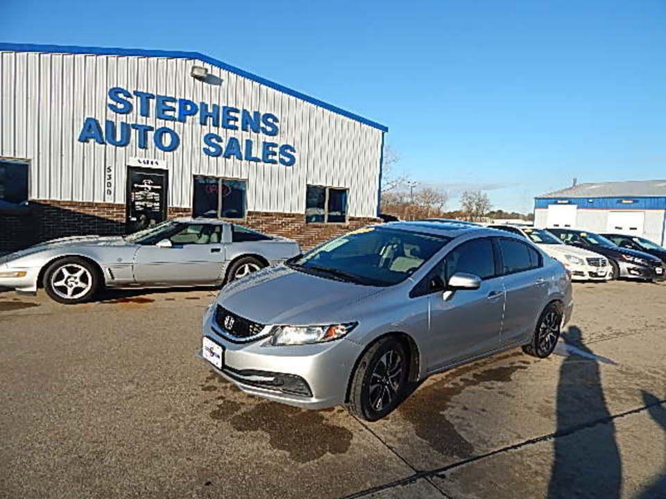 2014 Honda Civic Sedan  - Stephens Automotive Sales