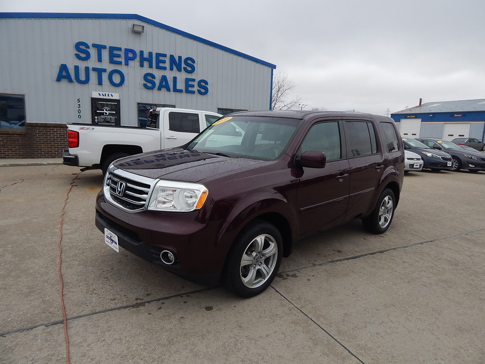 2014 Honda Pilot EX  - 10x  - Stephens Automotive Sales