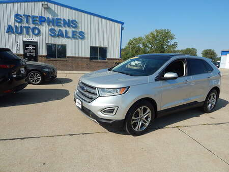 2016 Ford Edge Titanium for Sale  - 18  - Stephens Automotive Sales