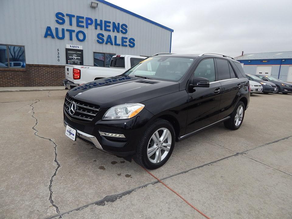2014 Mercedes-Benz M-Class  - Stephens Automotive Sales