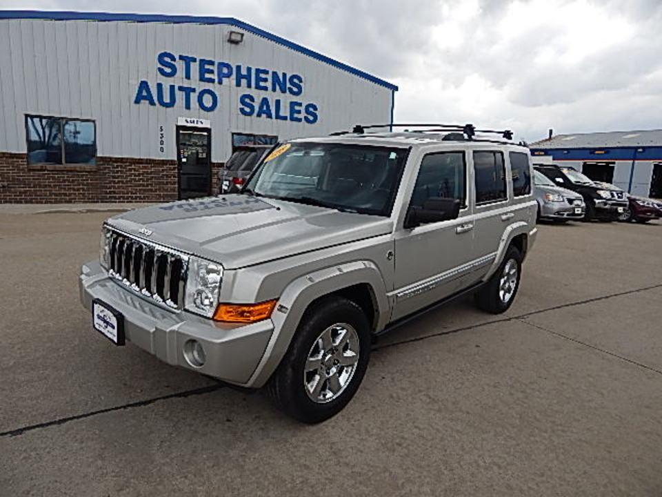 2008 Jeep Commander  - Stephens Automotive Sales