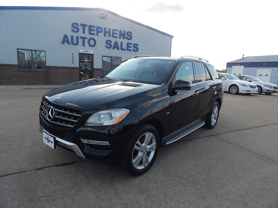 2012 Mercedes-Benz M-Class ML 350  - 01F  - Stephens Automotive Sales