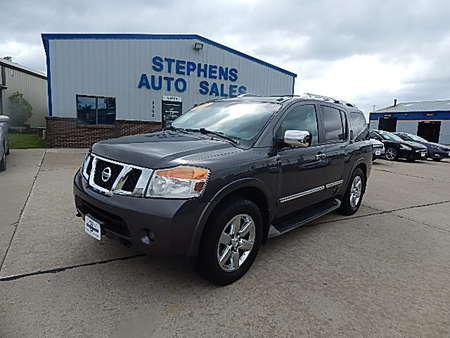 2010 Nissan Armada Platinum for Sale  - 5R  - Stephens Automotive Sales