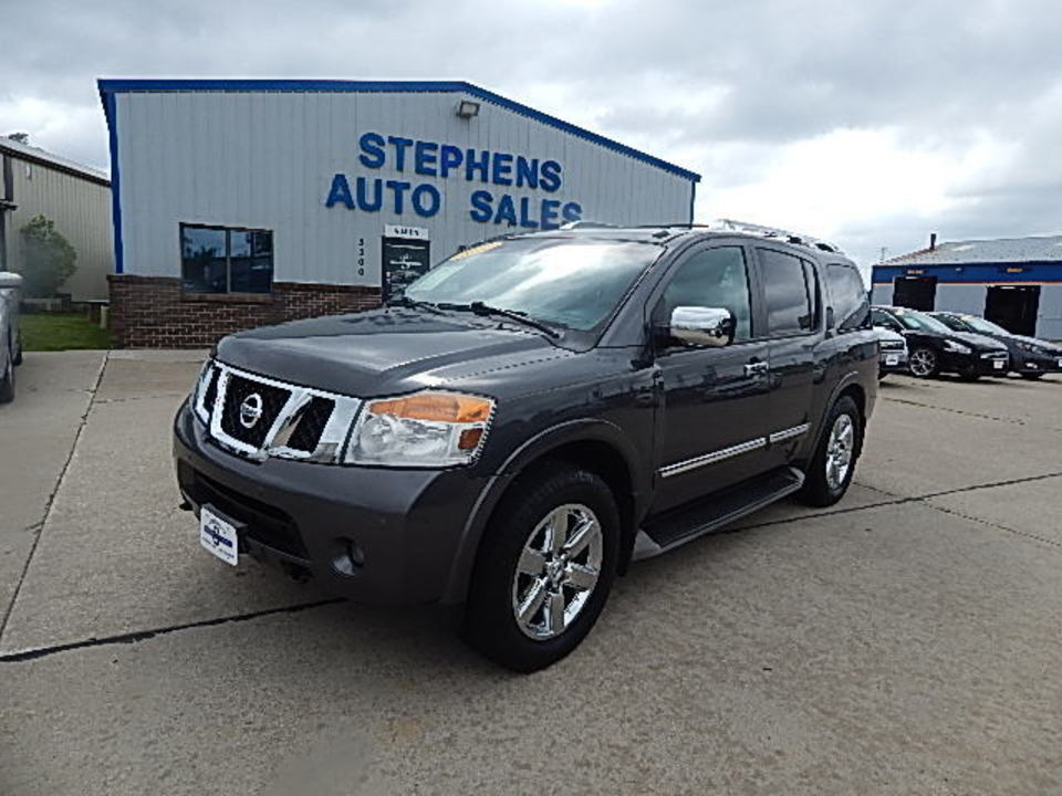 2010 Nissan Armada Platinum  - 5R  - Stephens Automotive Sales