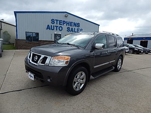 2010 Nissan Armada  - Stephens Automotive Sales