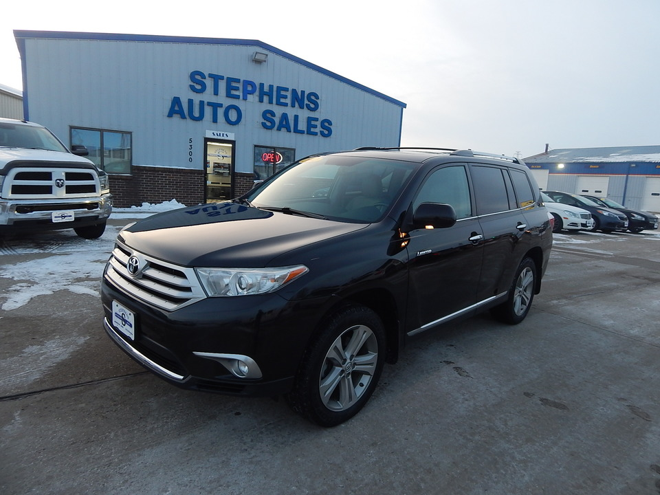 2012 Toyota Highlander Limited  - 3A  - Stephens Automotive Sales