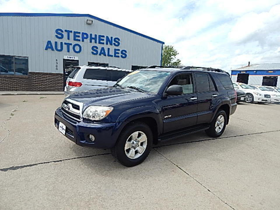 2006 Toyota 4Runner  - Stephens Automotive Sales