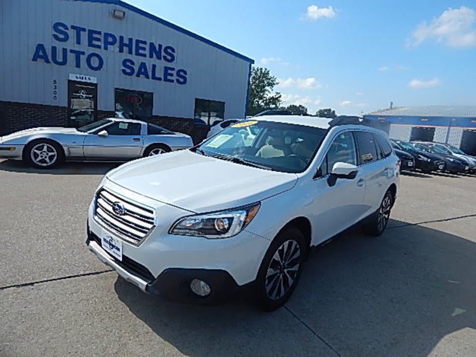 2016 Subaru Outback 2.5i Limited  - 30L  - Stephens Automotive Sales