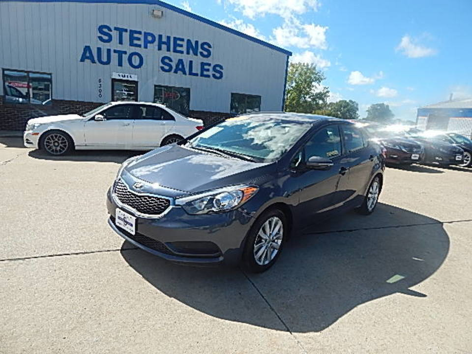 2016 Kia FORTE LX  - 26N  - Stephens Automotive Sales