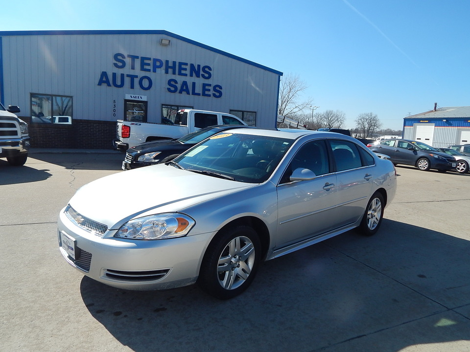 2013 Chevrolet Impala  - Stephens Automotive Sales