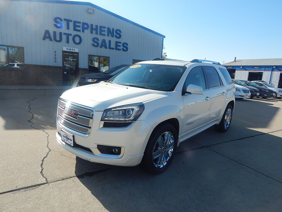 2015 GMC Acadia  - Stephens Automotive Sales