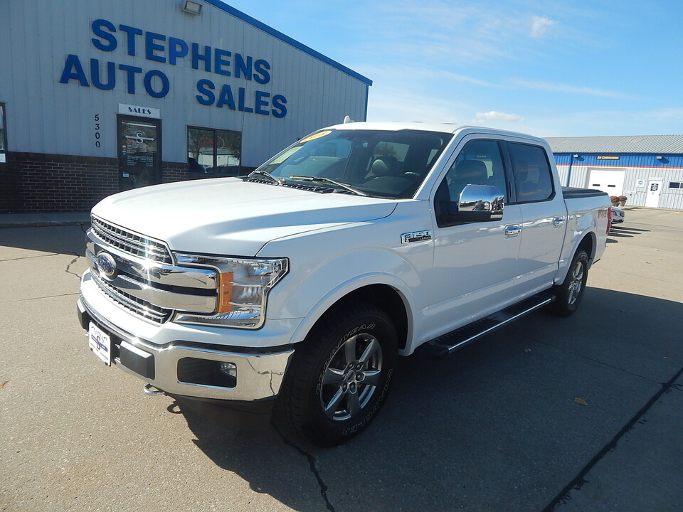 2018 Ford F-150 LARIAT  - F42978  - Stephens Automotive Sales