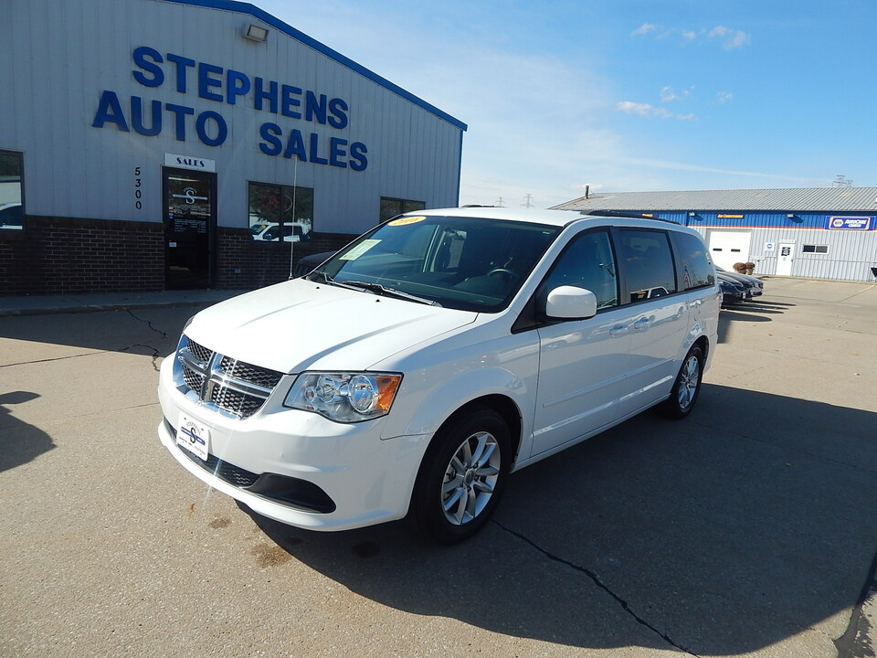 2016 Dodge Grand Caravan SXT  - 321301  - Stephens Automotive Sales