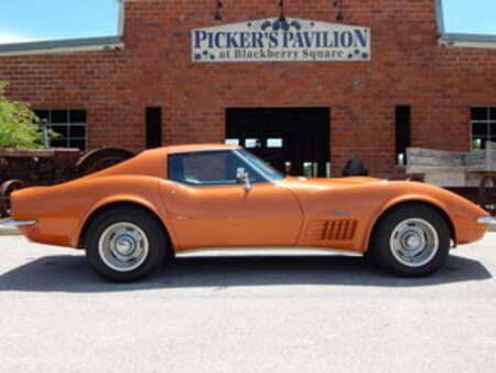 1972 Chevrolet Corvette Stingray T-Tops for Sale  - 9929  - Great American Classics