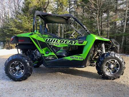 2014 Arctic Cat Thunder Cat Wildcat Trail 700XT *1 Owner, Excellent Shape* for Sale  - 1  - Mackenzie Auto Sales