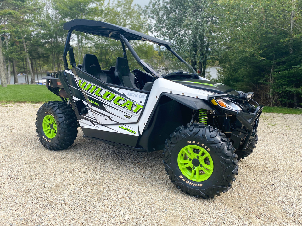 2017 Arctic Cat Thunder Cat Wildcat Trail Limited EPS  - 1  - Mackenzie Auto Sales