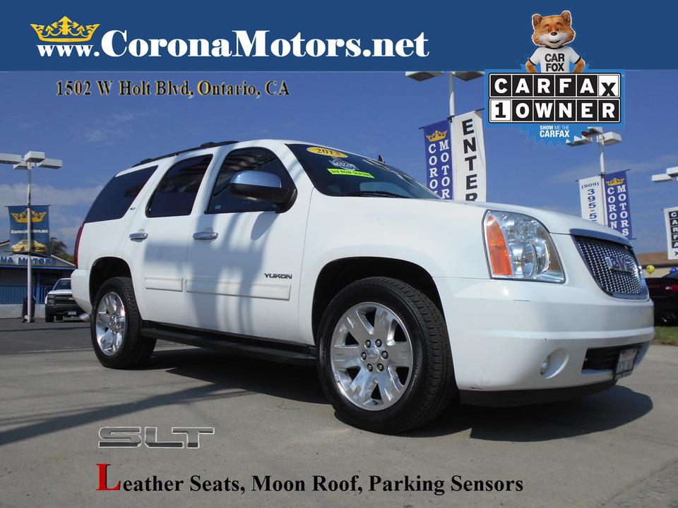 2013 GMC Yukon SLT  - 13172  - Corona Motors
