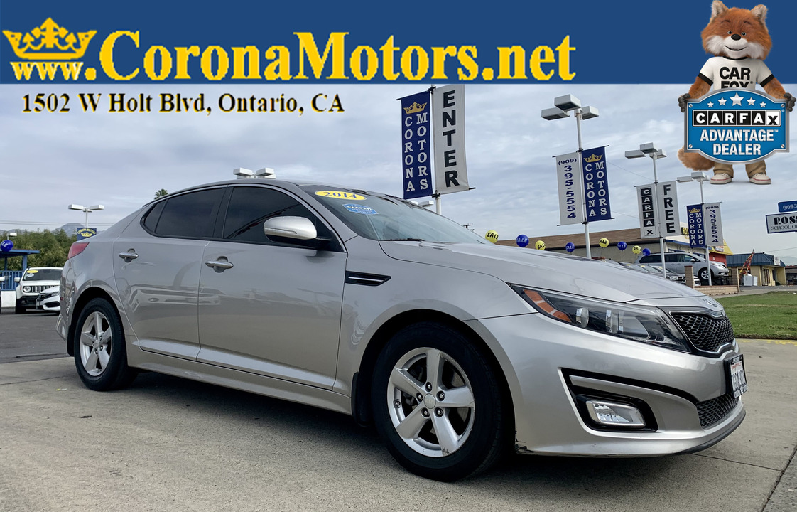 2014 Kia Optima LX  - 12948  - Corona Motors