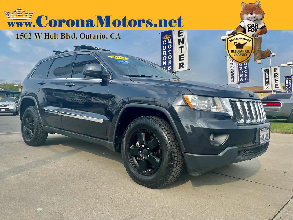 2012 Jeep Grand Cherokee Laredo  - 13204  - Corona Motors