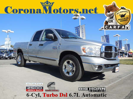2007 Dodge Ram 2500 SLT Quad Cab Diesel V6 for Sale  - 12278  - Corona Motors