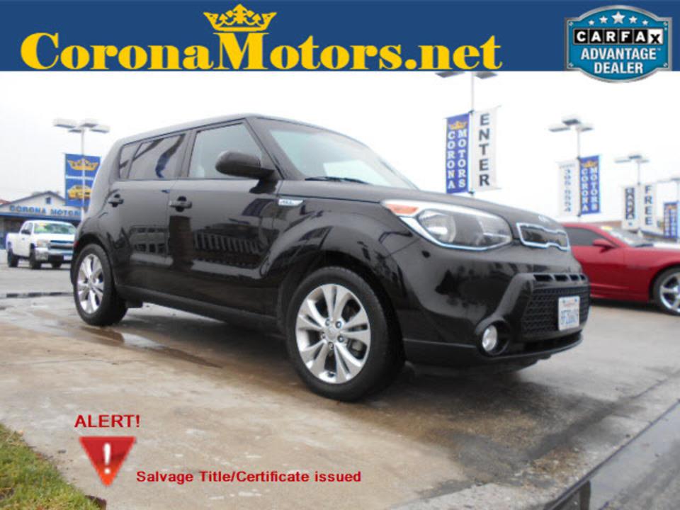 2016 Kia Soul +  - 12631  - Corona Motors