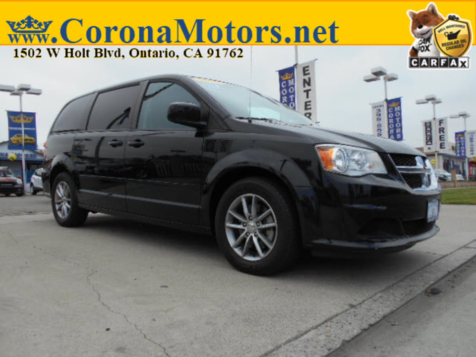 2016 Dodge Grand Caravan SE Plus  - 12804  - Corona Motors