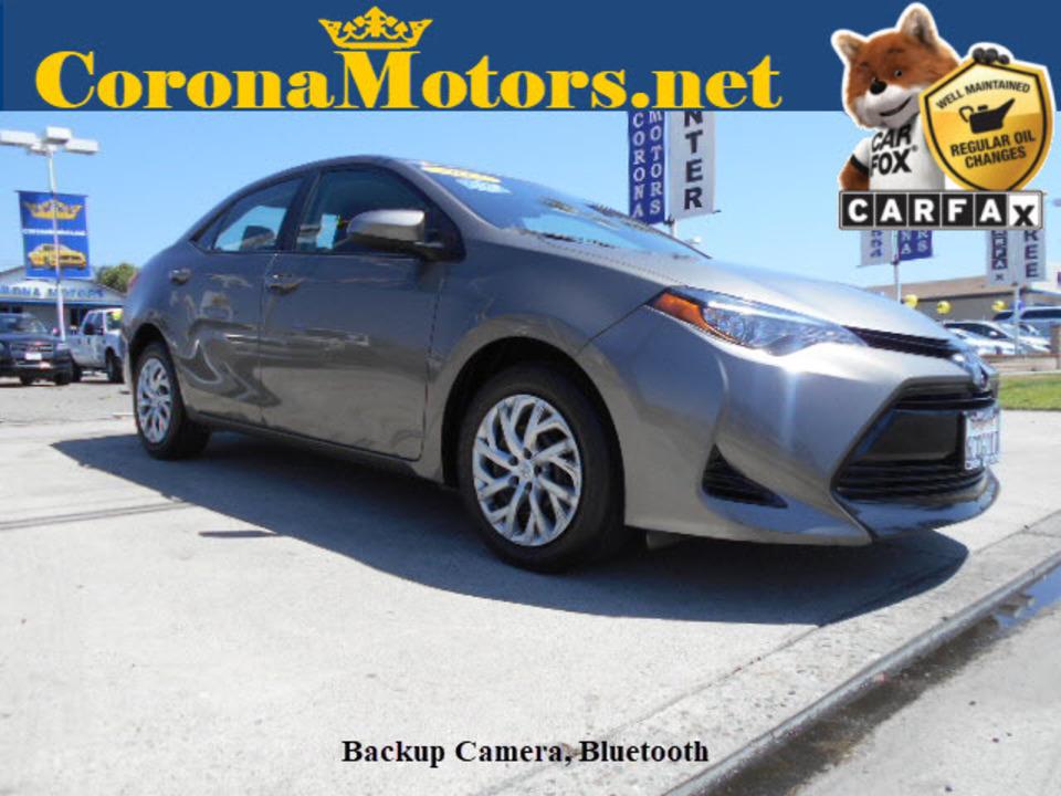 2017 Toyota Corolla  - Corona Motors