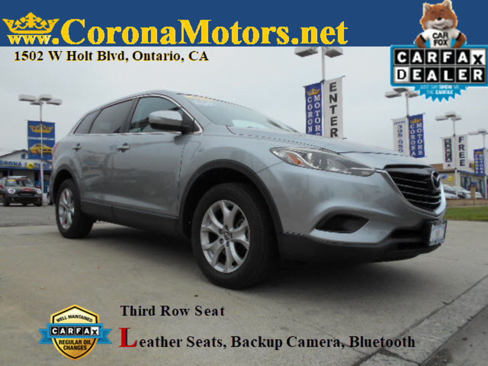 2015 Mazda CX-9 Touring  - 12785  - Corona Motors