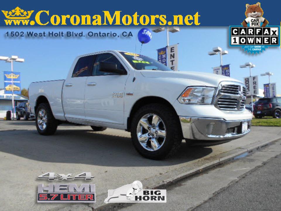 2015 Ram 1500 Big Horn  - 12662  - Corona Motors