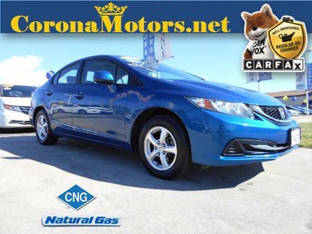 2013 Honda Civic CNG for Sale  - 12329  - Corona Motors