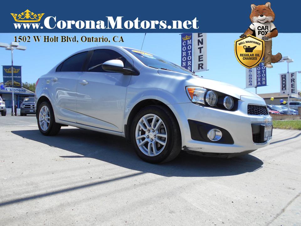 2015 Chevrolet Sonic LT  - 13124  - Corona Motors