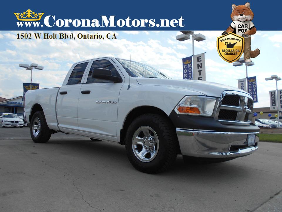 2012 Ram 1500 ST  - 13117  - Corona Motors