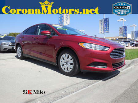 2013 Ford Fusion S for Sale  - 12166  - Corona Motors