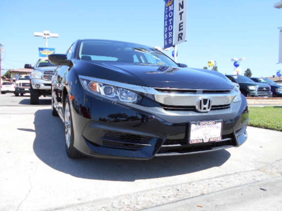 2016 Honda Civic Sedan  - Corona Motors