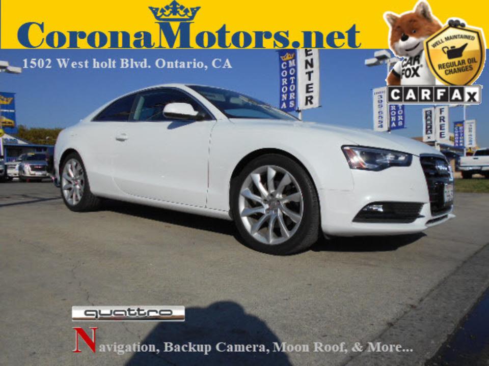 2013 Audi A5 Premium Plus  - 12675  - Corona Motors