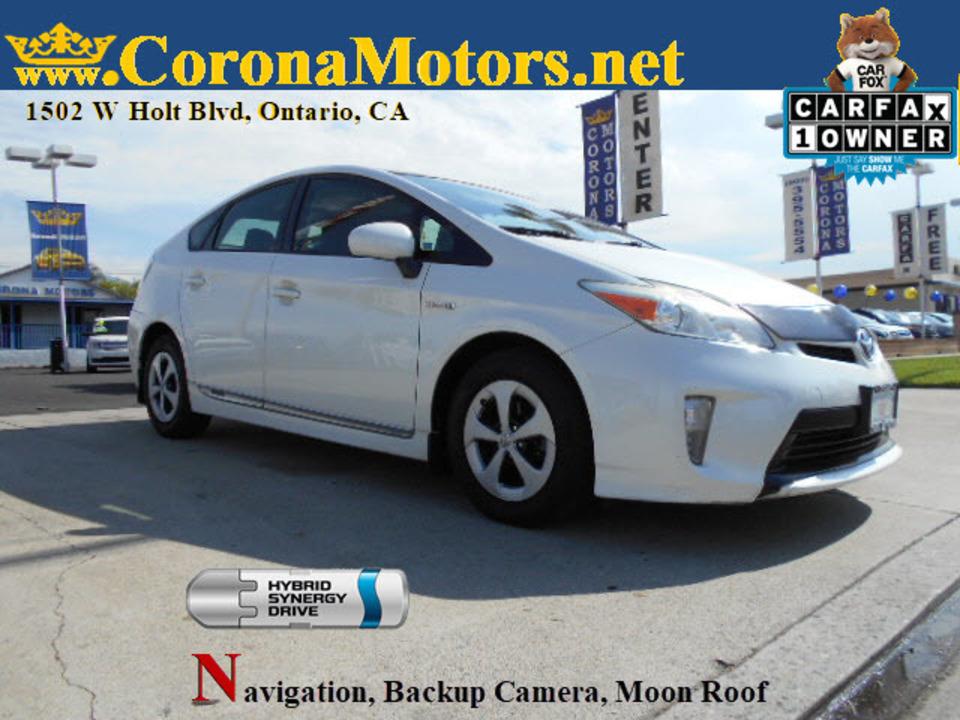 2012 Toyota Prius  - Corona Motors