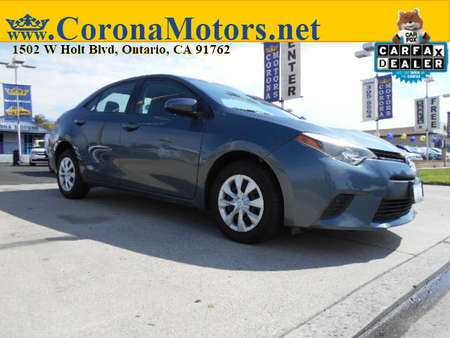 2015 Toyota Corolla L for Sale  - 12869  - Corona Motors