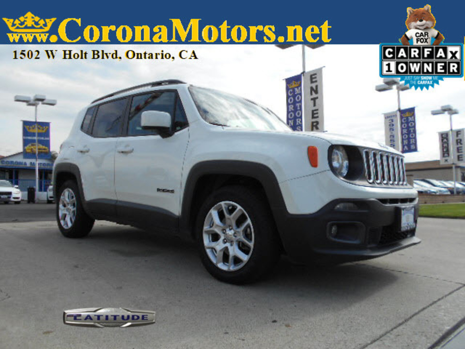 2017 Jeep Renegade Latitude  - 12866  - Corona Motors