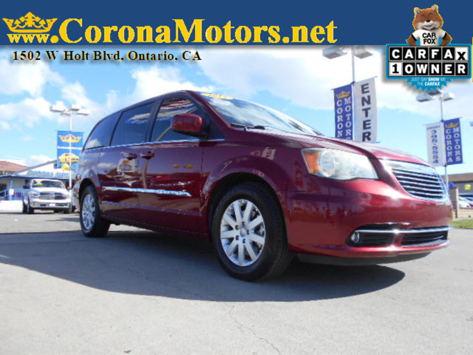 2014 Chrysler Town & Country Touring  - 12709  - Corona Motors