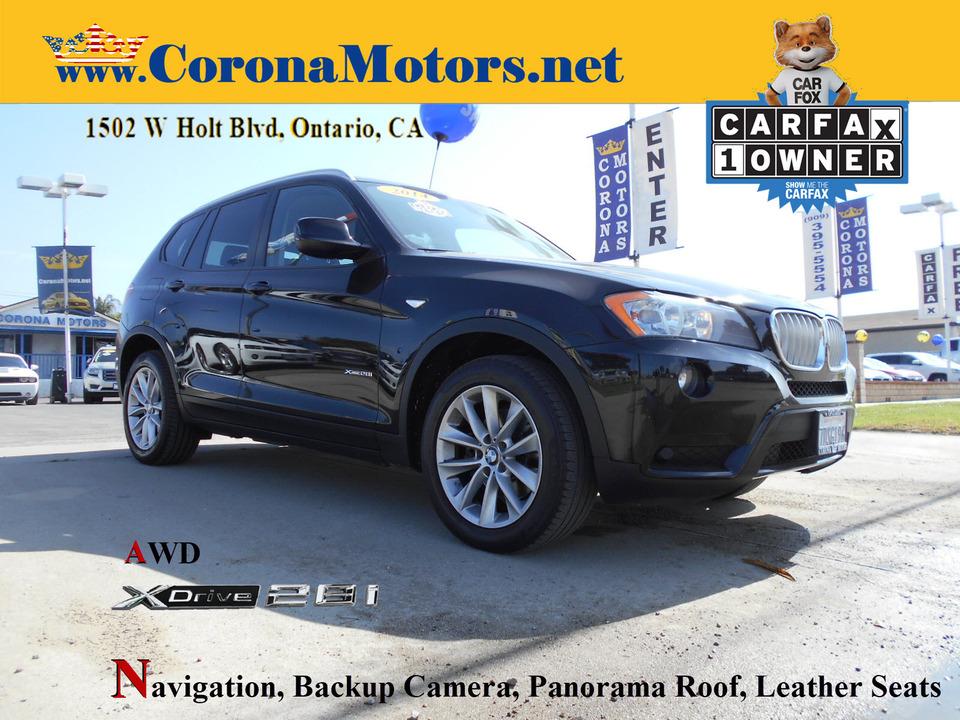 2014 BMW X3 xDrive28i  - 13126  - Corona Motors